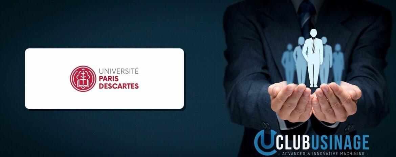 Club Usinage - URB2i Université Paris Descartes Membre